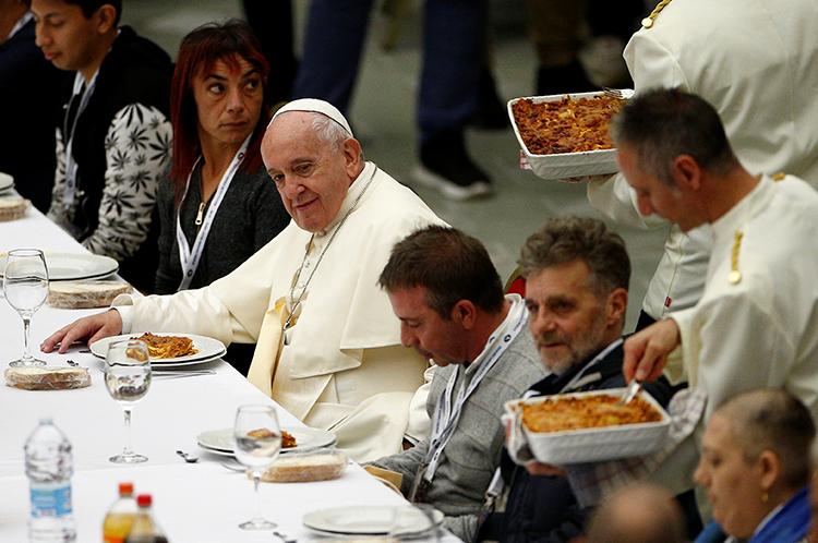 Mensagem do Papa Francisco para o IV Dia Mundial dos Pobres